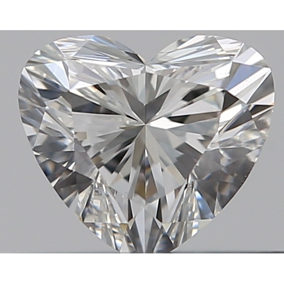 0.30 Carat Heart Loose Diamond, G, VS2, Super Ideal, GIA Certified