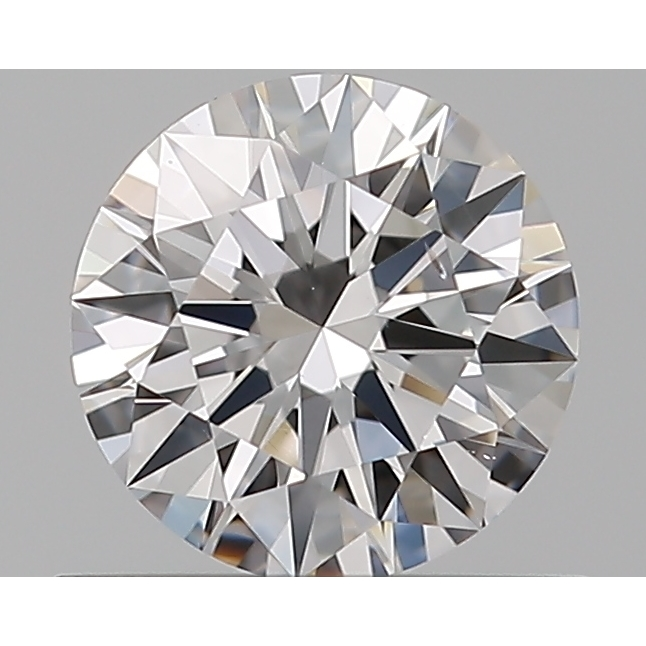 0.46 Carat Round Loose Diamond, D, VS2, Super Ideal, GIA Certified