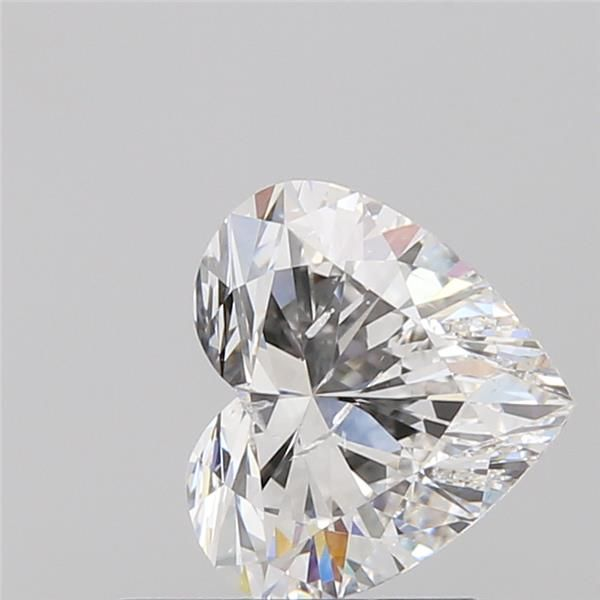 0.82 Carat Heart Loose Diamond, F, SI2, Super Ideal, GIA Certified | Thumbnail