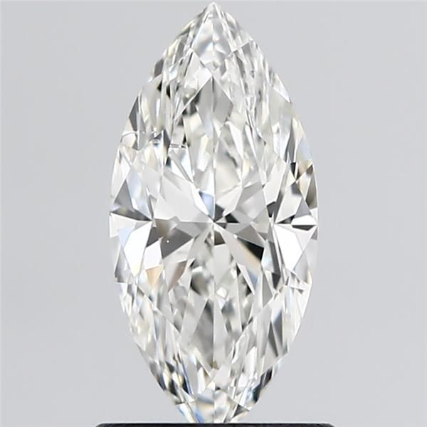 0.90 Carat Marquise Loose Diamond, H, SI2, Excellent, GIA Certified
