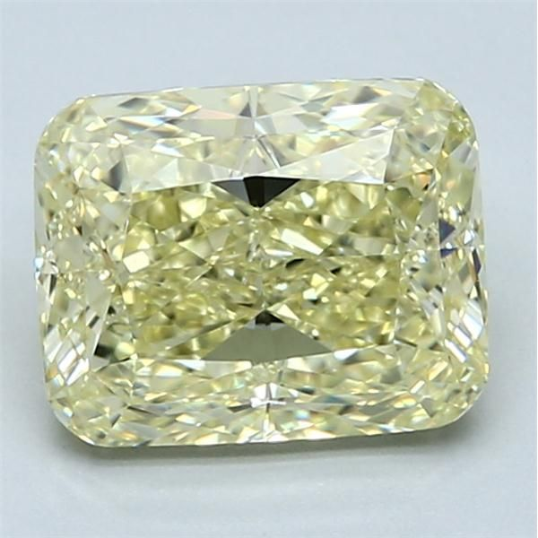 3.01 Carat Cushion Loose Diamond, FY FY, VS2, Excellent, GIA Certified