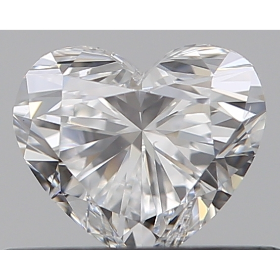 0.35 Carat Heart Loose Diamond, E, IF, Super Ideal, GIA Certified | Thumbnail