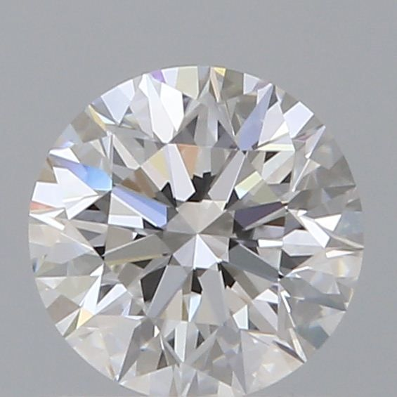 0.65 Carat Round Loose Diamond, D, IF, Super Ideal, GIA Certified