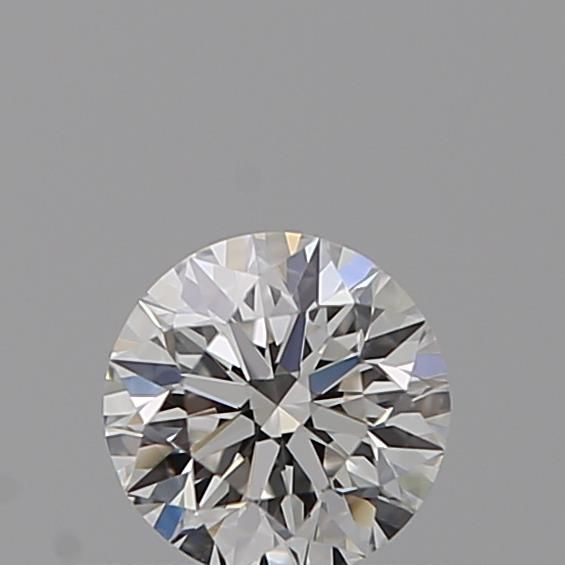 0.30 Carat Round Loose Diamond, F, IF, Super Ideal, GIA Certified