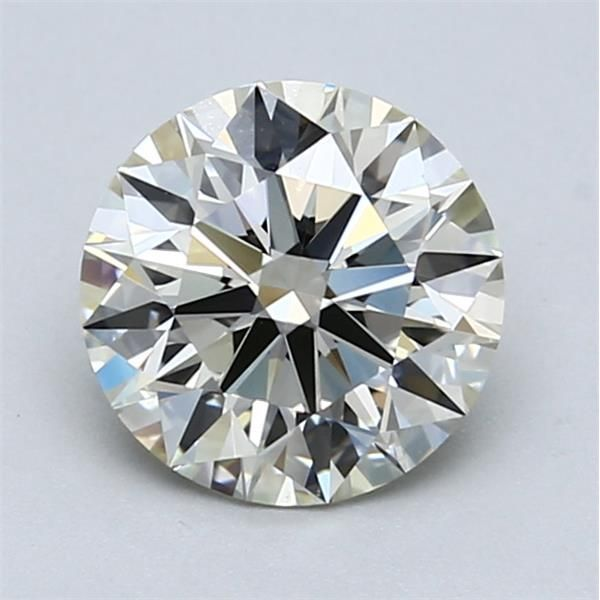 1.51 Carat Round Loose Diamond, L, IF, Super Ideal, GIA Certified