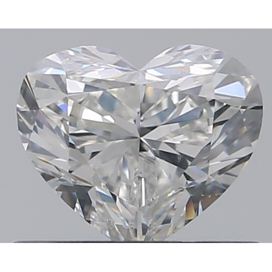 0.50 Carat Heart Loose Diamond, G, SI1, Super Ideal, GIA Certified
