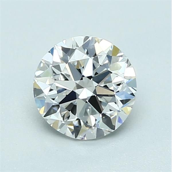 1.00 Carat Round Loose Diamond, F, VS1, Excellent, GIA Certified