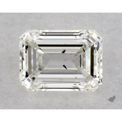 0.30 Carat Emerald Loose Diamond, H, SI2, Excellent, GIA Certified