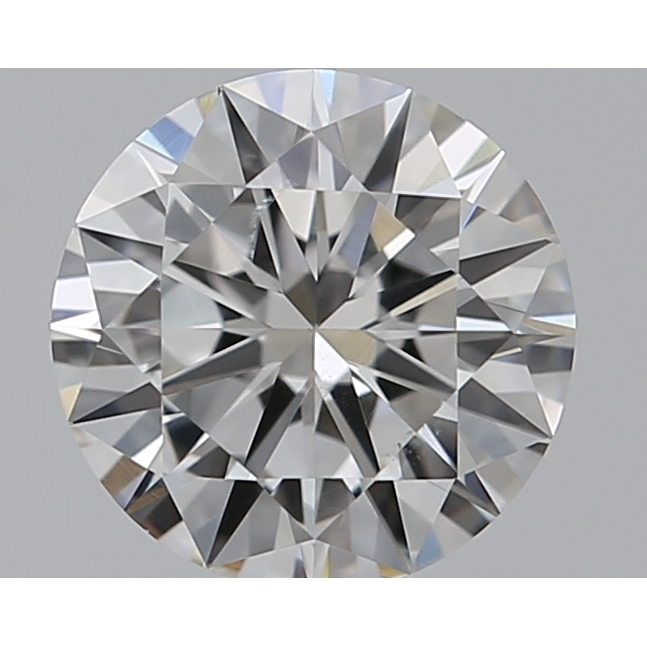 0.50 Carat Round Loose Diamond, F, SI1, Excellent, GIA Certified