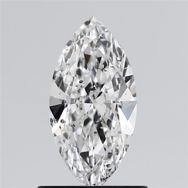 0.70 Carat Marquise Loose Diamond, D, SI2, Ideal, GIA Certified