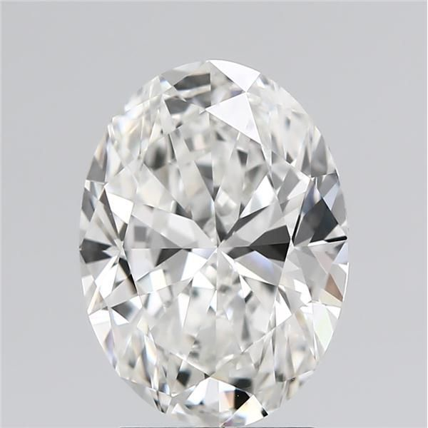 3.01 Carat Oval Loose Diamond, G, IF, Super Ideal, GIA Certified