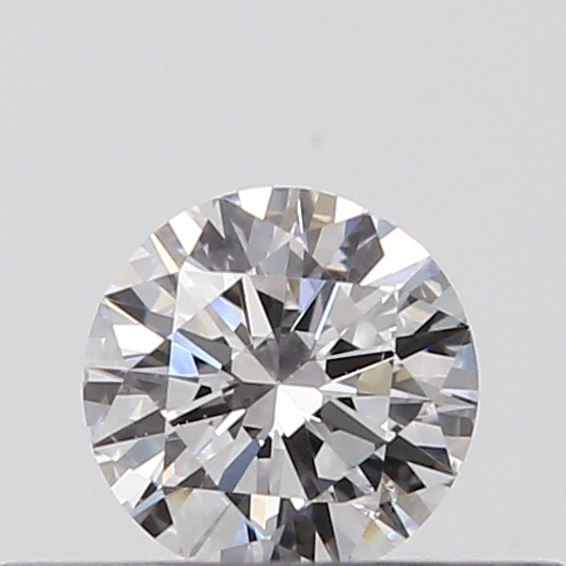 0.18 Carat Round Loose Diamond, D, SI1, Excellent, GIA Certified