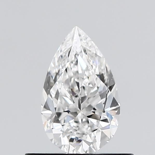 0.55 Carat Pear Loose Diamond, D, IF, Excellent, GIA Certified