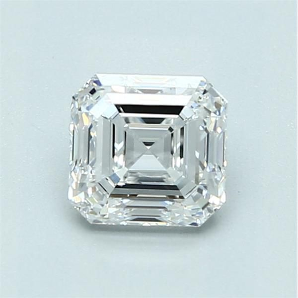 1.01 Carat Asscher Loose Diamond, E, VVS1, Ideal, GIA Certified