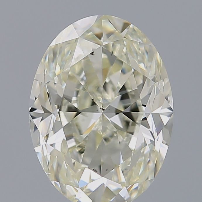 1.50 Carat Oval Loose Diamond, M, VS2, Excellent, GIA Certified