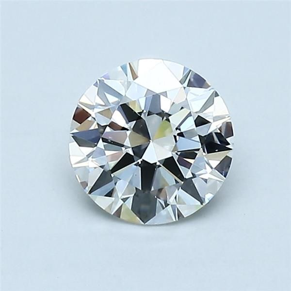 0.80 Carat Round Loose Diamond, H, VS2, Excellent, GIA Certified