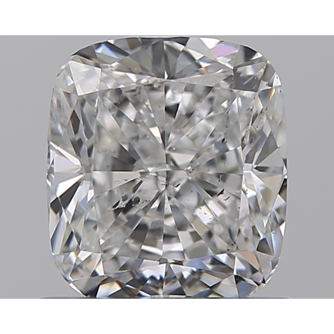 0.90 Carat Cushion Loose Diamond, E, SI1, Excellent, GIA Certified