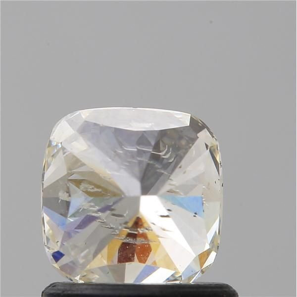 1.00 Carat Cushion Loose Diamond, M, I1, Excellent, GIA Certified