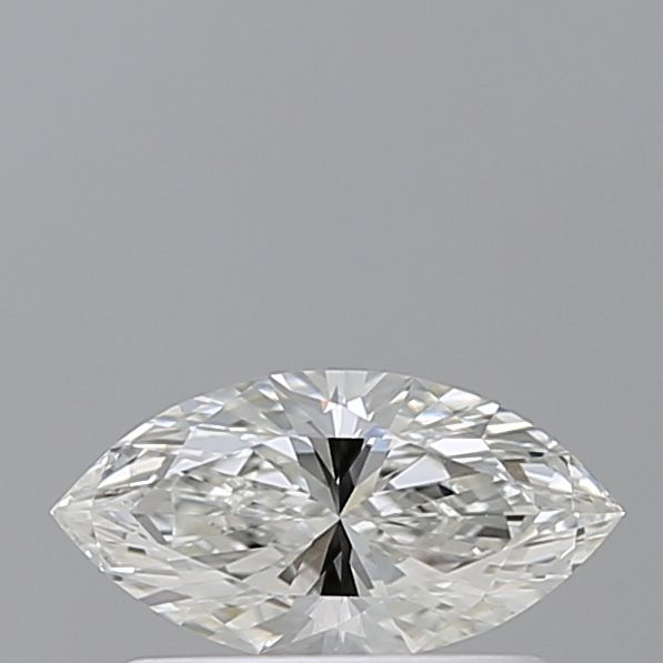 0.37 Carat Marquise Loose Diamond, H, VS2, Ideal, GIA Certified