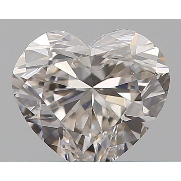 0.30 Carat Heart Loose Diamond, H, SI1, Excellent, GIA Certified