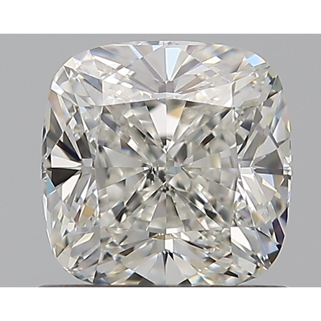 0.91 Carat Cushion Loose Diamond, H, SI1, Excellent, GIA Certified