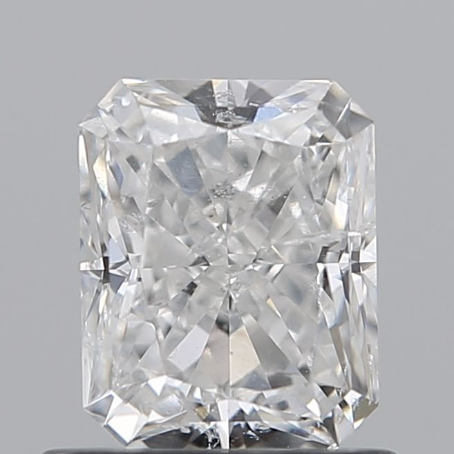 0.90 Carat Radiant Loose Diamond, E, I1, Excellent, GIA Certified