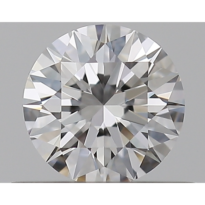 0.37 Carat Round Loose Diamond, D, IF, Super Ideal, GIA Certified