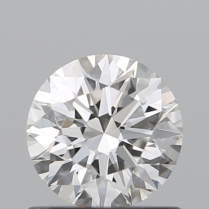 0.71 Carat Round Loose Diamond, F, IF, Super Ideal, GIA Certified