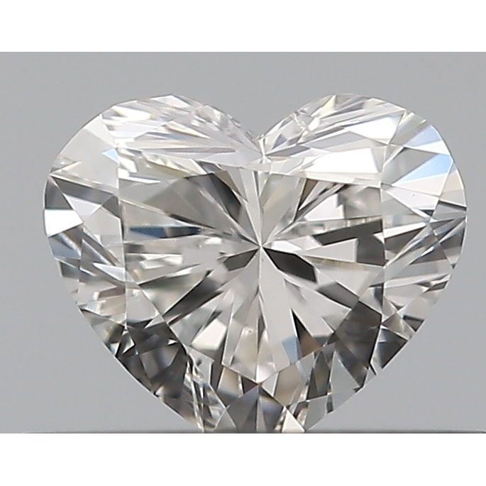 0.31 Carat Heart Loose Diamond, G, SI1, Excellent, GIA Certified
