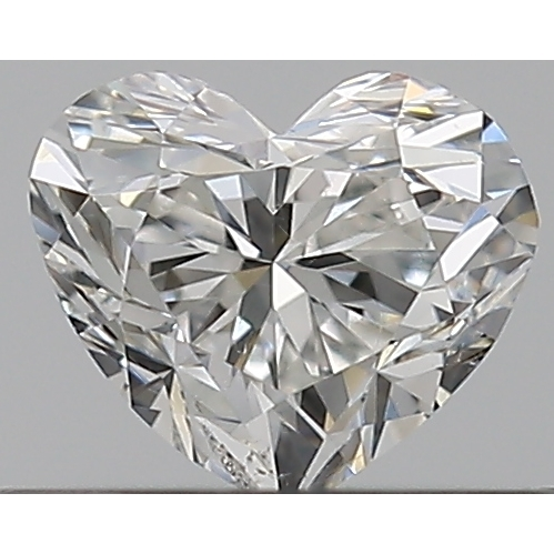 0.30 Carat Heart Loose Diamond, G, SI1, Excellent, GIA Certified