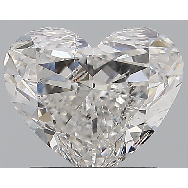 1.20 Carat Heart Loose Diamond, F, SI2, Excellent, GIA Certified