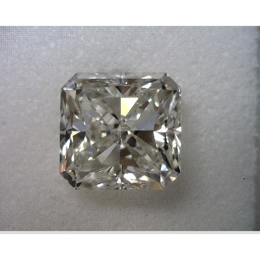 1.51 Carat Radiant Loose Diamond, J, VS2, Ideal, GIA Certified