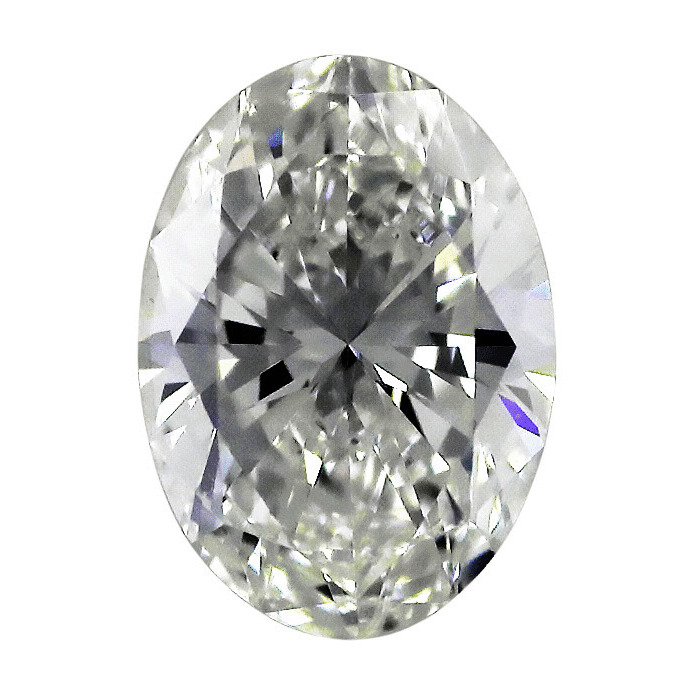 0.73 Carat Oval Loose Diamond, F, VS1, Super Ideal, GIA Certified