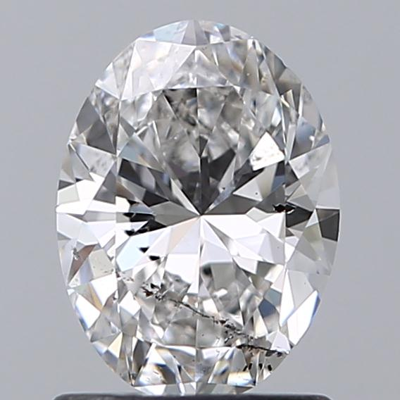 1.00 Carat Oval Loose Diamond, E, SI2, Super Ideal, GIA Certified