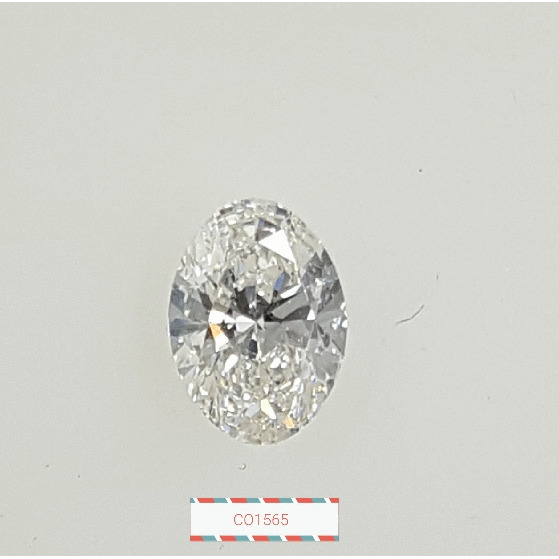 0.90 Carat Oval Loose Diamond, G, SI2, Super Ideal, GIA Certified