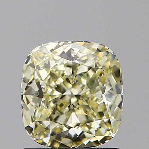 1.10 Carat Cushion Loose Diamond, FANCY, SI1, Ideal, GIA Certified