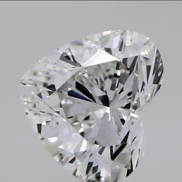 0.31 Carat Heart Loose Diamond, G, VVS1, Super Ideal, GIA Certified