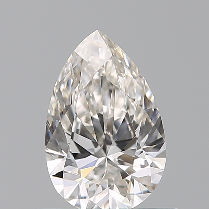 0.51 Carat Pear Loose Diamond, H, VS1, Super Ideal, GIA Certified