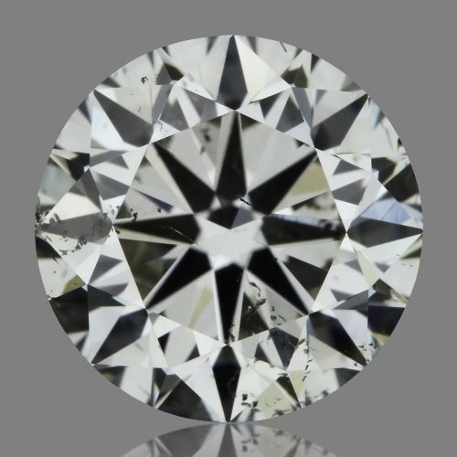 1.01 Carat Round Loose Diamond, K, SI1, Excellent, GIA Certified