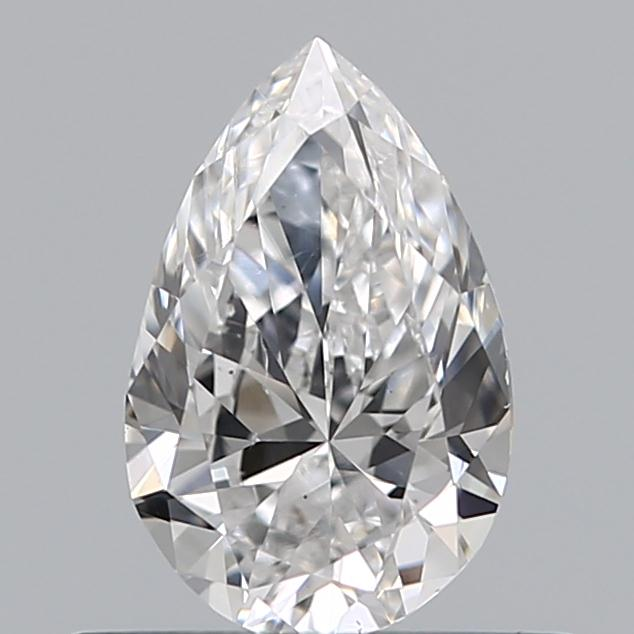 0.50 Carat Pear Loose Diamond, D, SI1, Ideal, GIA Certified