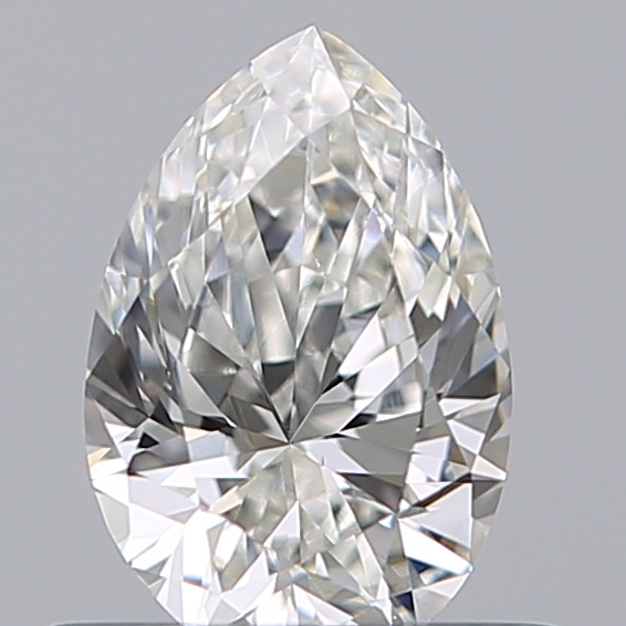 0.50 Carat Pear Loose Diamond, G, VS1, Excellent, GIA Certified