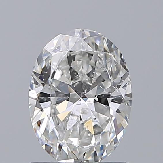 1.00 Carat Oval Loose Diamond, G, SI2, Super Ideal, GIA Certified