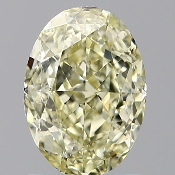 1.38 Carat Oval Loose Diamond, FANCY, VS2, Ideal, GIA Certified