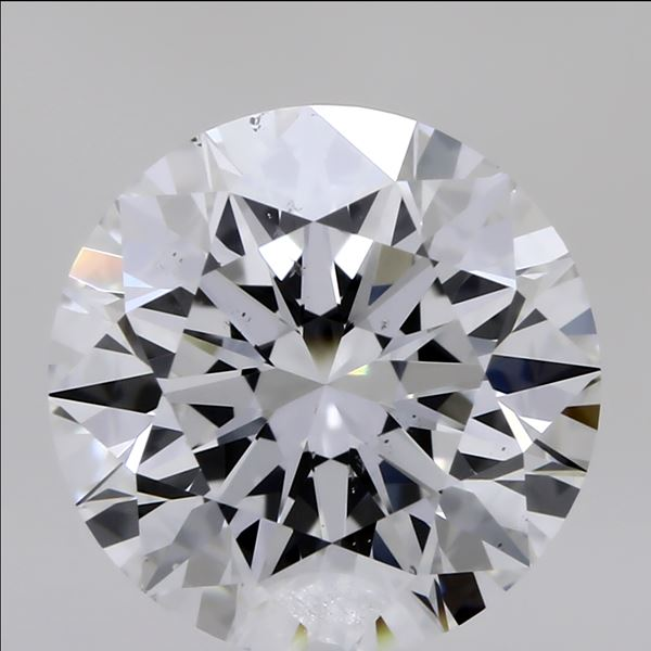 2.04 Carat Round Loose Diamond, D, SI1, Super Ideal, GIA Certified