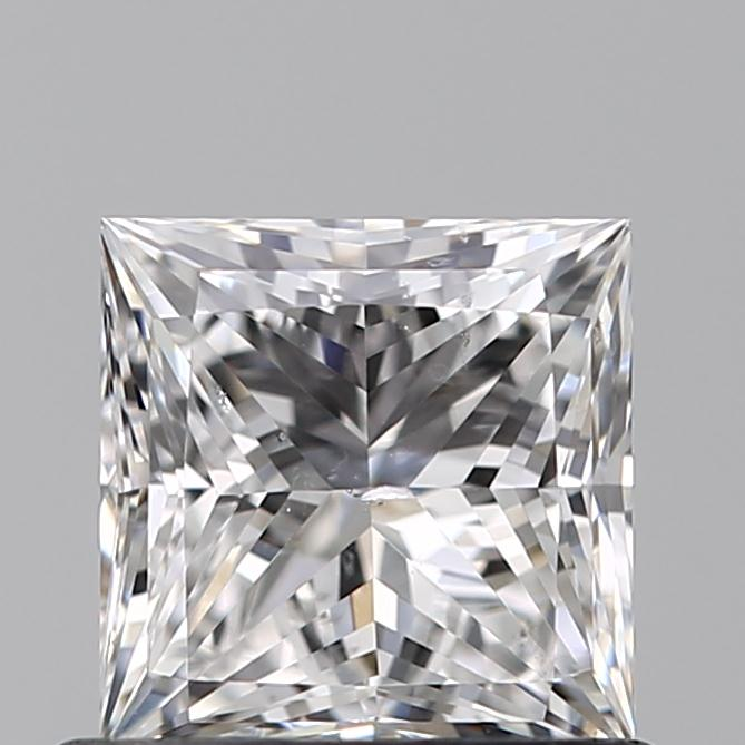 0.71 Carat Princess Loose Diamond, E, SI1, Super Ideal, GIA Certified