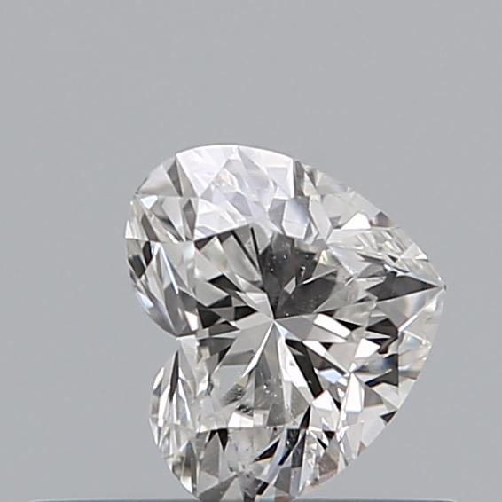 0.30 Carat Heart Loose Diamond, G, SI2, Super Ideal, GIA Certified