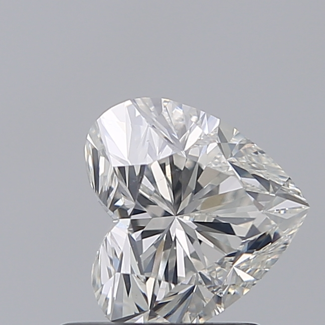 1.00 Carat Heart Loose Diamond, I, SI1, Excellent, GIA Certified