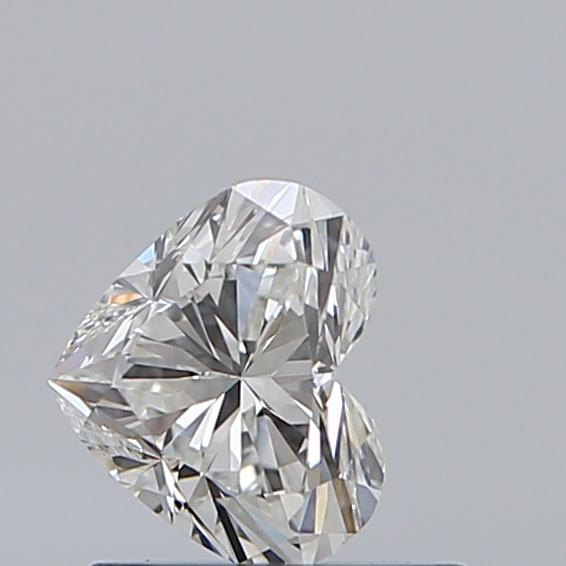 0.50 Carat Heart Loose Diamond, H, VS1, Super Ideal, GIA Certified | Thumbnail