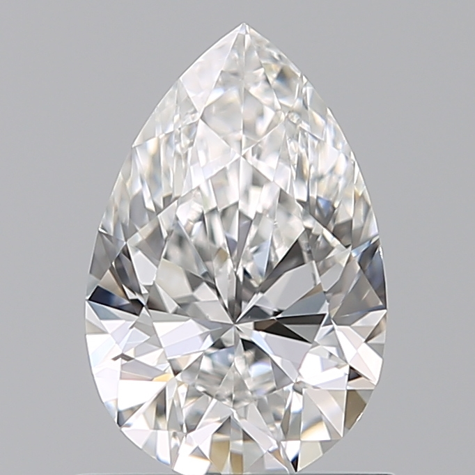 0.70 Carat Pear Loose Diamond, F, VS2, Ideal, GIA Certified | Thumbnail