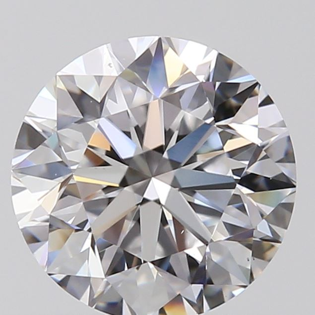 0.70 Carat Round Loose Diamond, D, VS1, Excellent, GIA Certified